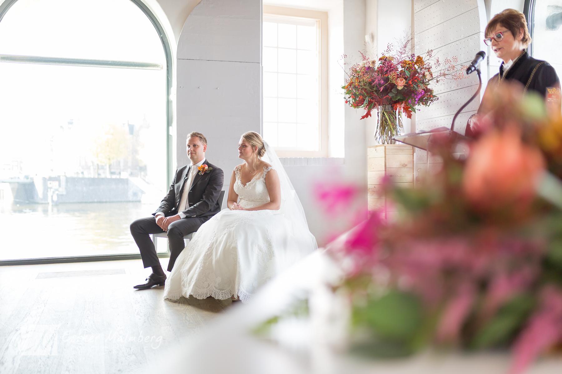 Huwelijksvoltrekking Scheepsvaartmuseum Amsterdam