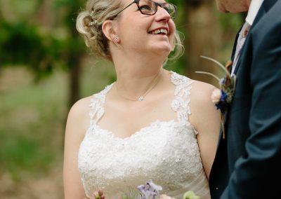 Pure emoties tijdens Moment Design bruidsreportage in Roosendaal