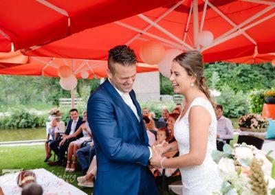 Huwelijksceremonie Vaantje Reeuwijk