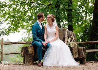 Trouwen in het bos Bruidsfotograaf Gouda