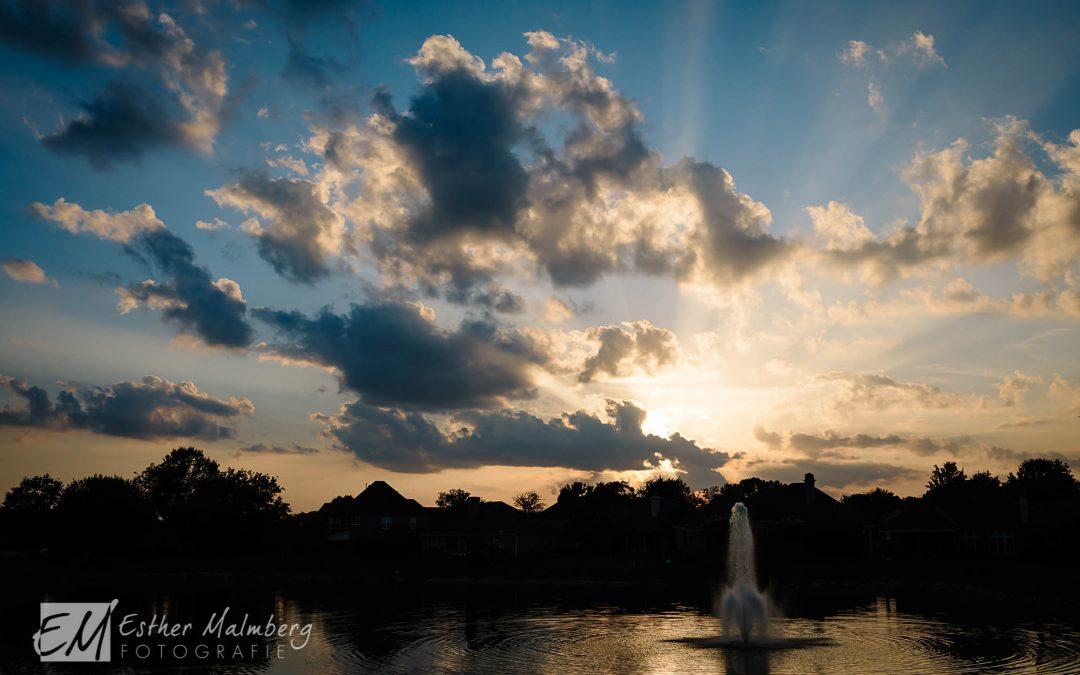 zonsondergang alabama usa sunset